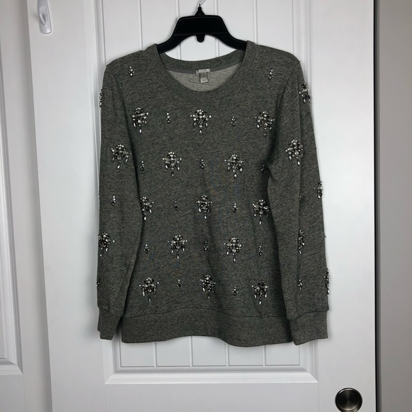 J. Crew Sweaters - Jcrew embellished diamond sweater